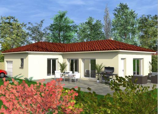 Maison à vendre .(111 m²)(SAINT JEAN DE MUZOLS) avec (MAISONS CEVI 26)