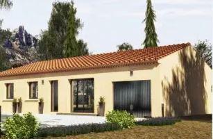 Maison à vendre .(90 m²)(SAINT JEAN DE MUZOLS) avec (MAISONS CEVI 26)