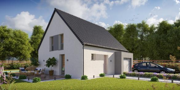 Maison à vendre .(80 m²)(FESSENHEIM) avec (LOONIS MAISONS)