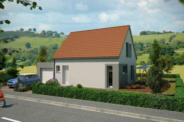 Maison à vendre .(79 m²)(ISSENHEIM) avec (LOONIS MAISONS)