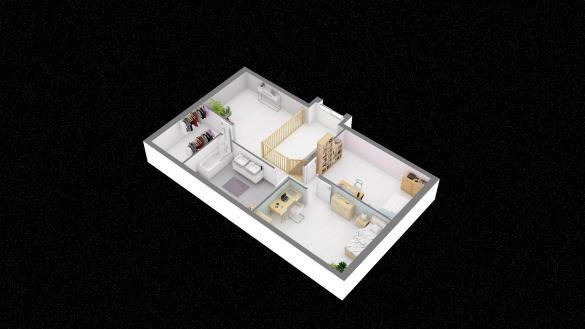 Maison+Terrain à vendre .(123 m²)(SACY LE GRAND) avec (RESIDENCES PICARDES)