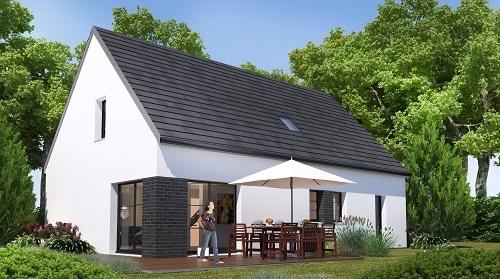 Maison+Terrain à vendre .(127 m²)(EMBREVILLE) avec (RESIDENCES PICARDES EU)