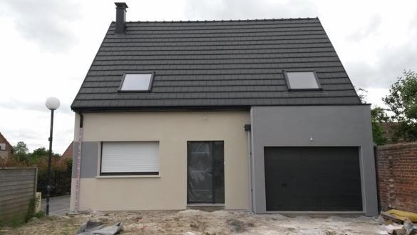 Maison+Terrain à vendre .(85 m²)(POIX DE PICARDIE) avec (RESIDENCES PICARDES)