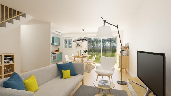 Maison+Terrain à vendre .(79 m²)(FRUGES) avec (HABITAT CONCEPT BOULOGNE SUR MER)