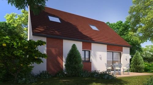 Maison+Terrain à vendre .(94 m²)(AMIENS) avec (HABITAT CONCEPT)