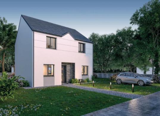 Maison+Terrain à vendre .(128 m²)(AMIENS) avec (HABITAT CONCEPT)
