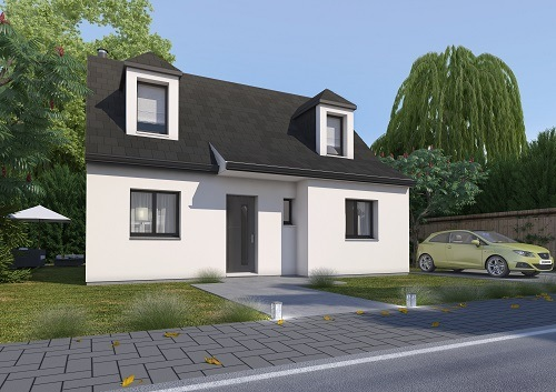Maison+Terrain à vendre .(85 m²)(SAINT VAAST EN CHAUSSEE) avec (HABITAT CONCEPT)