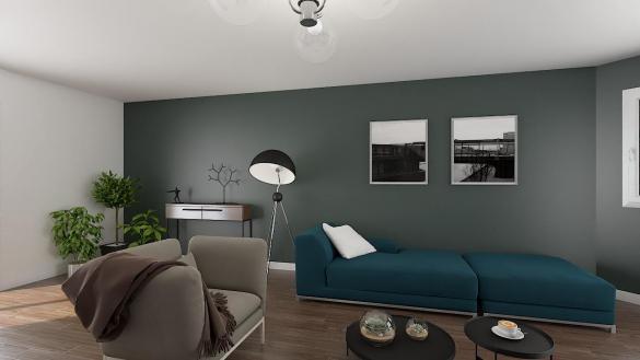 Maison+Terrain à vendre .(102 m²)(AMIENS) avec (HABITAT CONCEPT)