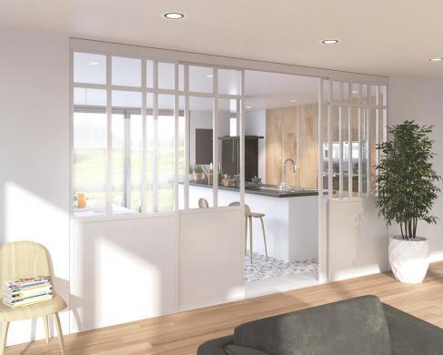 Maison+Terrain à vendre .(98 m²)(BENOUVILLE) avec (HABITAT CONCEPT)