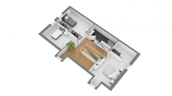 Maison+Terrain à vendre .(127 m²)(RANVILLE) avec (HABITAT CONCEPT)