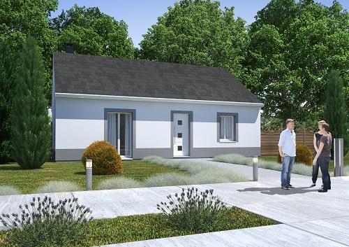 Maison+Terrain à vendre .(68 m²)(CESNY AUX VIGNES OUEZY) avec (HABITAT CONCEPT)