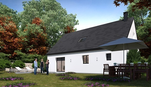 Maison+Terrain à vendre .(102 m²)(CESNY AUX VIGNES OUEZY) avec (HABITAT CONCEPT)