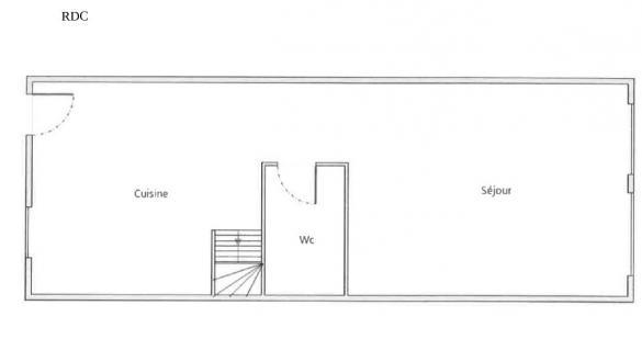 Maison à vendre .(88 m²)(BOURG DE PEAGE) avec (SAS IMMOVIA)