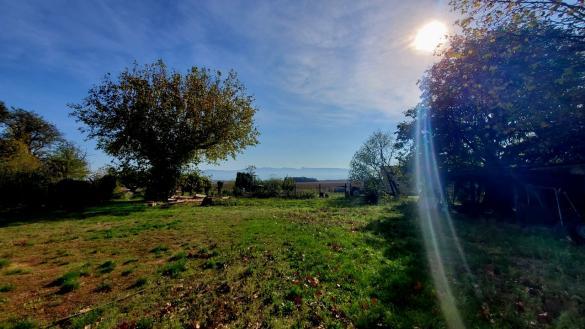 Terrain à vendre .(418 m²)(ALIXAN) avec (IMMOVIA)