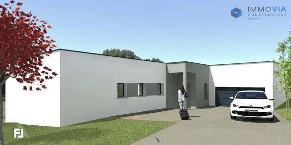 Maison à vendre .(140 m²)(MONTELIER) avec (IMMOVIA)