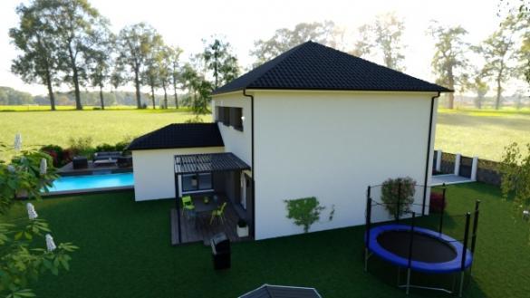 Maison+Terrain à vendre .(129 m²)(OSTRICOURT) avec (HABITAT CONCEPT)