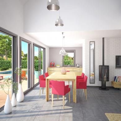 Maison+Terrain à vendre .(71 m²)(PARENTIS EN BORN) avec (Les demeures de la côte d Argent)