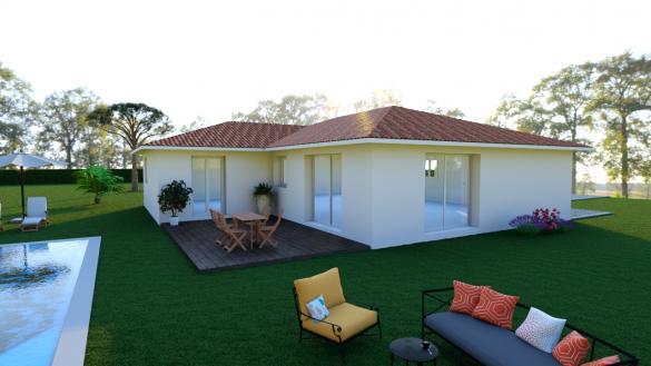 Maison+Terrain à vendre .(110 m²)(SAINTE EULALIE EN BORN) avec (Les demeures de la côte d Argent)