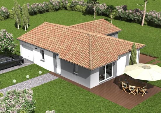 Maison à vendre .(98 m²)(PARENTIS EN BORN) avec (Les demeures de la côte d Argent)