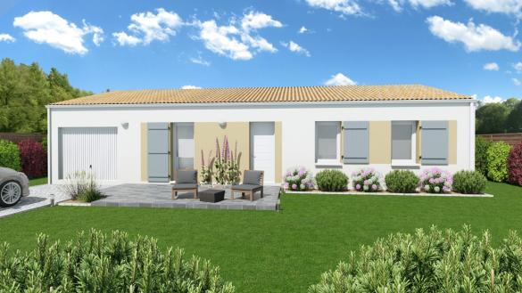 Maison+Terrain à vendre .(80 m²)(PARENTIS EN BORN) avec (Les demeures de la côte d Argent)
