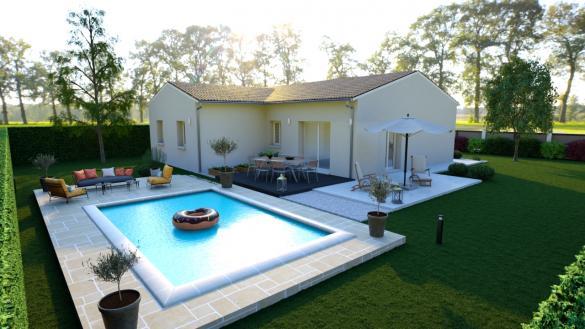 Maison+Terrain à vendre .(93 m²)(MIMIZAN) avec (Les demeures de la côte d Argent)