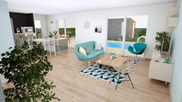 Maison+Terrain à vendre .(90 m²)(AUREILHAN) avec (Les demeures de la côte d Argent)