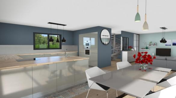 Maison+Terrain à vendre .(83 m²)(SAINT PAUL EN BORN) avec (Les demeures de la côte d Argent)