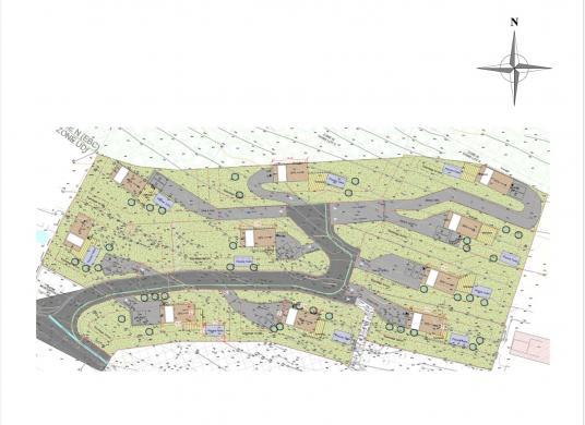 Terrain à vendre .(1056 m²)(LA VALETTE DU VAR) avec (AM IMMOBILIER)