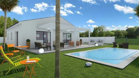 Maison à vendre .(100 m²)(SAINT PONS DE MAUCHIENS) avec (2A Groupe)