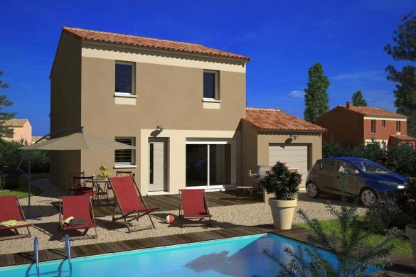 Maison+Terrain à vendre .(95 m²)(SAINT ZACHARIE) avec (MAISONS FRANCE CONFORT)