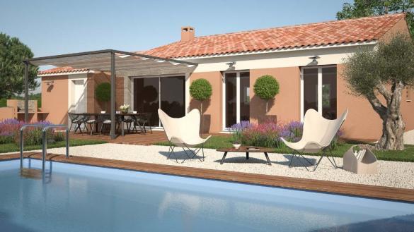 Maison+Terrain à vendre .(74 m²)(SAINT ZACHARIE) avec (MAISONS FRANCE CONFORT)