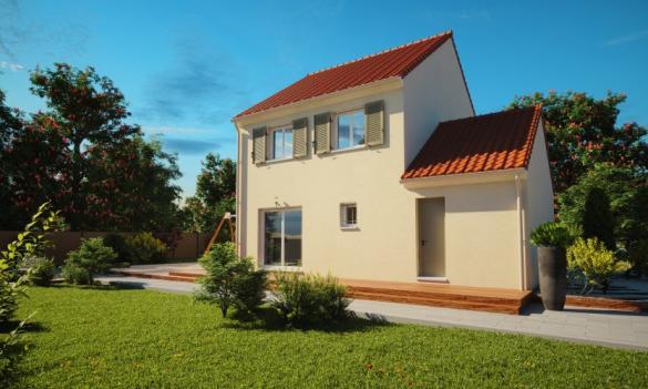 Maison à vendre .(104 m²)(VILLEPINTE) avec (HABITAT PAR COEUR)