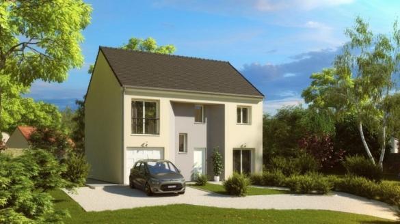 Maison à vendre .(118 m²)(NOISY LE GRAND) avec (HABITAT PAR COEUR)