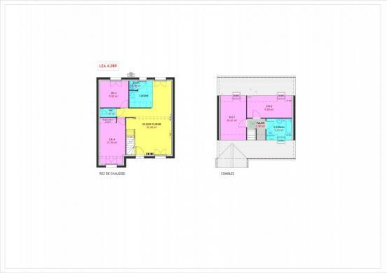 Maison à vendre .(89 m²)(CRECY LA CHAPELLE) avec (HABITAT PAR COEUR)