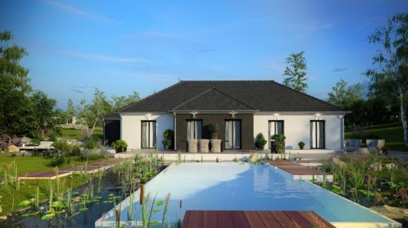 Maison à vendre .(132 m²)(BAILLY ROMAINVILLIERS) avec (HABITAT PAR COEUR)