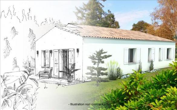 Maison+Terrain à vendre .(100 m²)(MARENNES) avec (Bourse de l Immobilier Marennes)