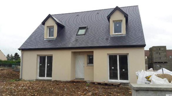 Maison+Terrain à vendre .(83 m²)(GUIGNES) avec (MAISONS COM)