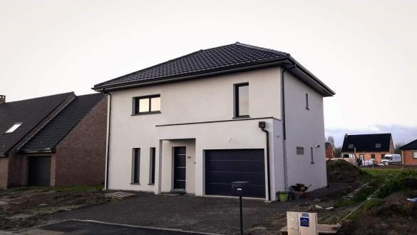 Maison+Terrain à vendre .(105 m²)(COUBRON) avec (MAISONS COM)