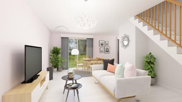 Maison+Terrain à vendre .(86 m²)(COULOMMIERS) avec (MAISONS COM)