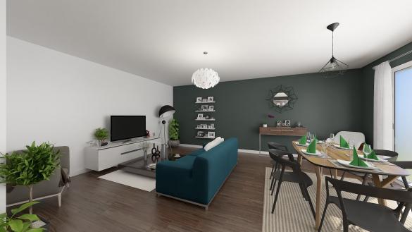 Maison+Terrain à vendre .(114 m²)(ARMANCOURT) avec (MAISONS COM)