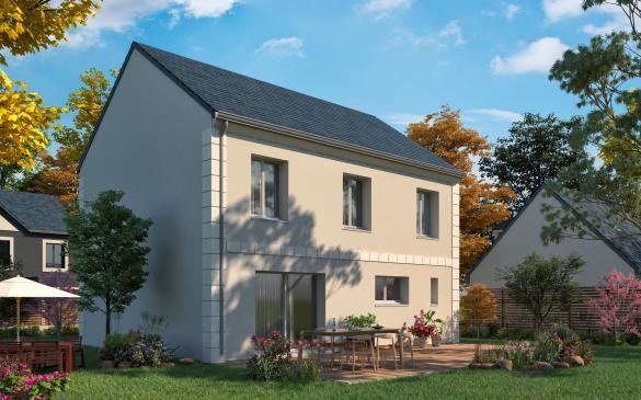 Maison+Terrain à vendre .(123 m²)(GAGNY) avec (MAISONS COM)