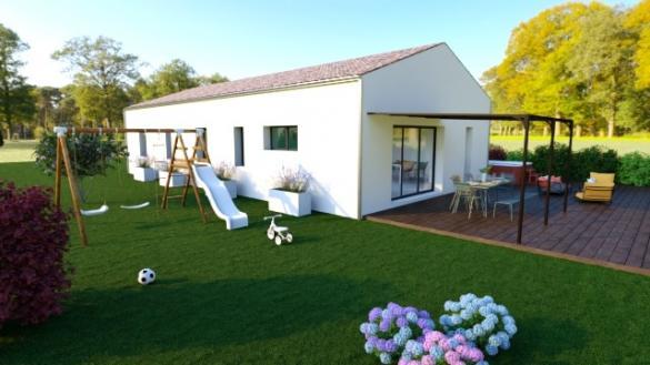 Maison+Terrain à vendre .(110 m²)(SAINT PAUL LES DAX) avec (LITTORAL HABITAT DAX)