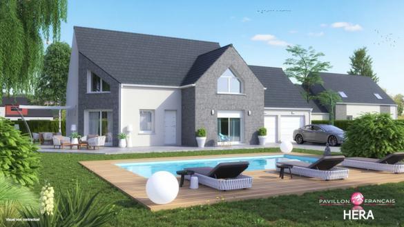 Maison+Terrain à vendre .(150 m²)(MEAUX) avec (LE PAVILLON FRANCAIS)