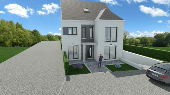 Maison+Terrain à vendre .(130 m²)(ANTONY) avec (LE PAVILLON FRANCAIS)