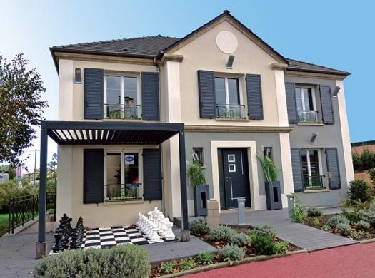 Terrain à vendre .(500 m²)(CHELLES) avec (LE PAVILLON FRANCAIS)