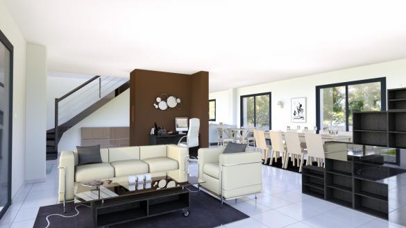 Terrain à vendre .(578 m²)(HOUILLES) avec (LE PAVILLON FRANCAIS)