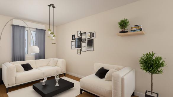 Maison+Terrain à vendre .(103 m²)(GUIGNES) avec (MAISONS COM)