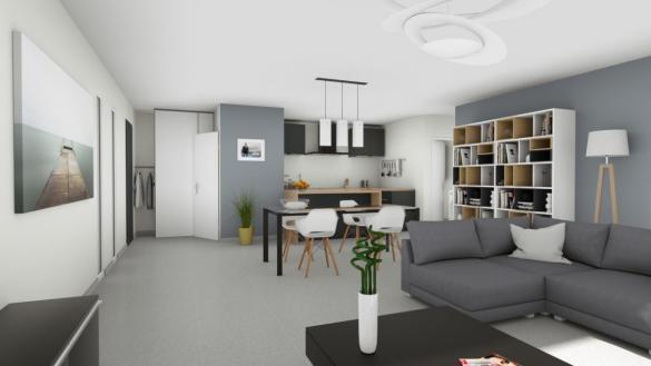 Maison à vendre .(92 m²)(MONTBOUCHER SUR JABRON) avec (Cotrin)