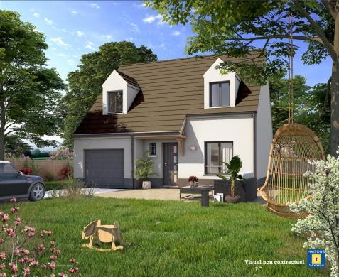 Maison+Terrain à vendre .(100 m²)(OZOIR LA FERRIERE) avec (MAISONS SESAME)