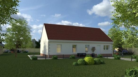 Maison+Terrain à vendre .(70 m²)(AGNETZ) avec (MAISON I - AGENCE COMPIEGNE)